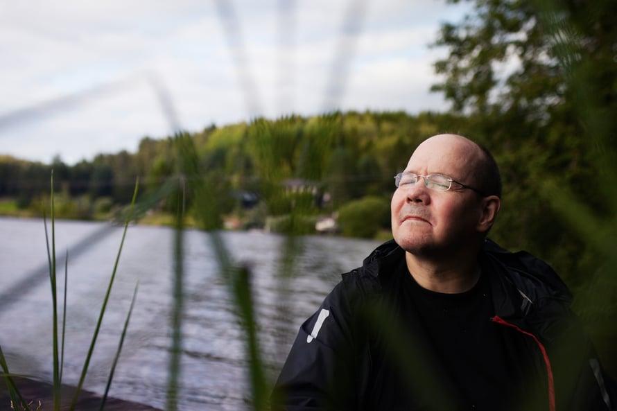 """""""Meille kaikille on täällä jokin tarkoitus"""", Markku Pietikäinen sanoo."""