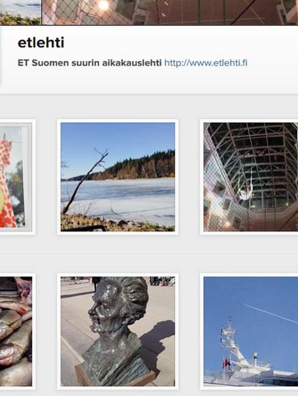 Muutamia kuvia ET-lehden Instagram-tilistä kuluneelta viikolta.