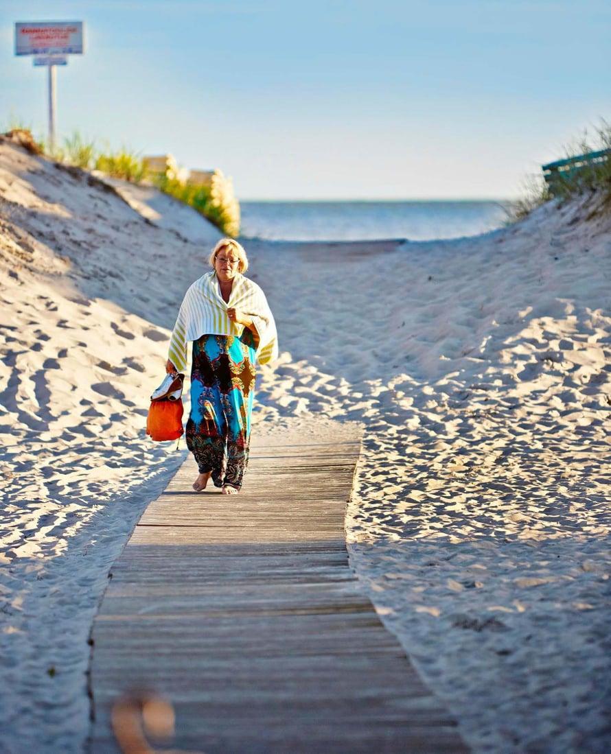 Pärnun hiekkaranta on pitkä ja hienohiekkainen.