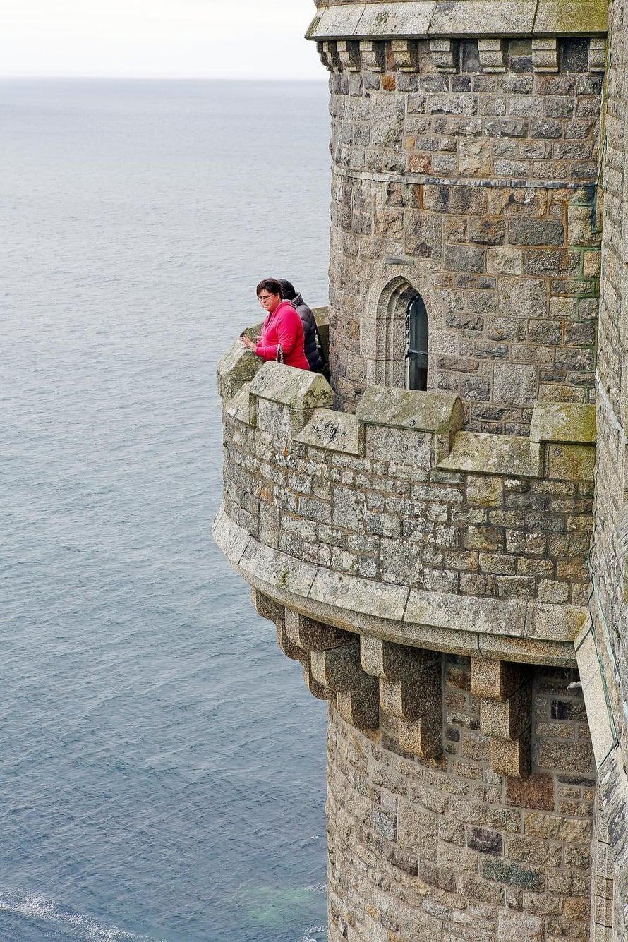 St Michelin linnasaari on Cornwallin kuuluisin nähtävyys.