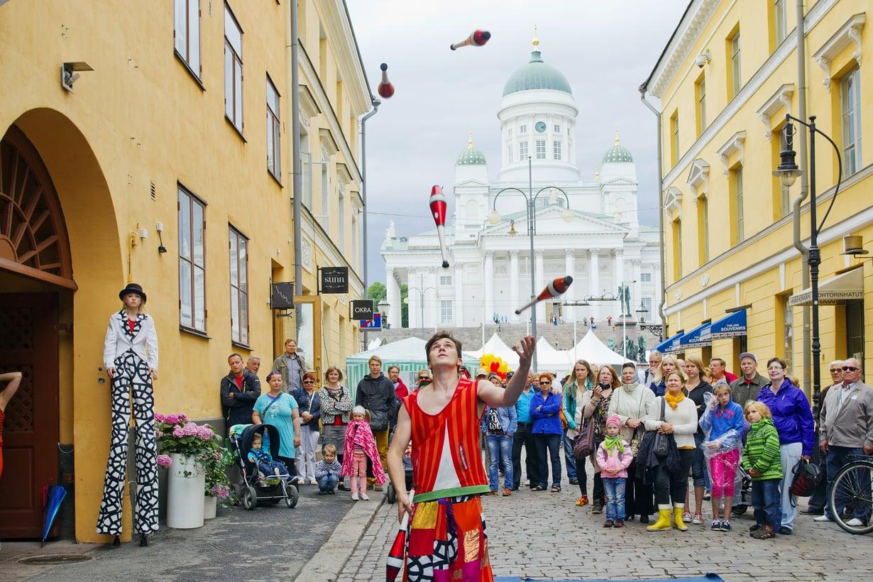 Helsinki-päivän humua 2016. Kuva: Lauri Rotko / Visit Helsinki