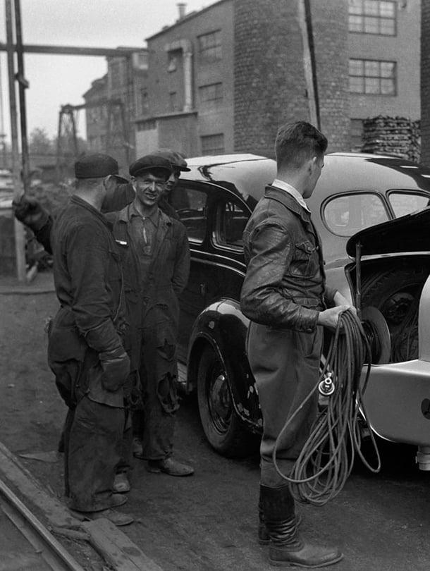 Radion ääniautoa siivitti häkäpönttö 1939.