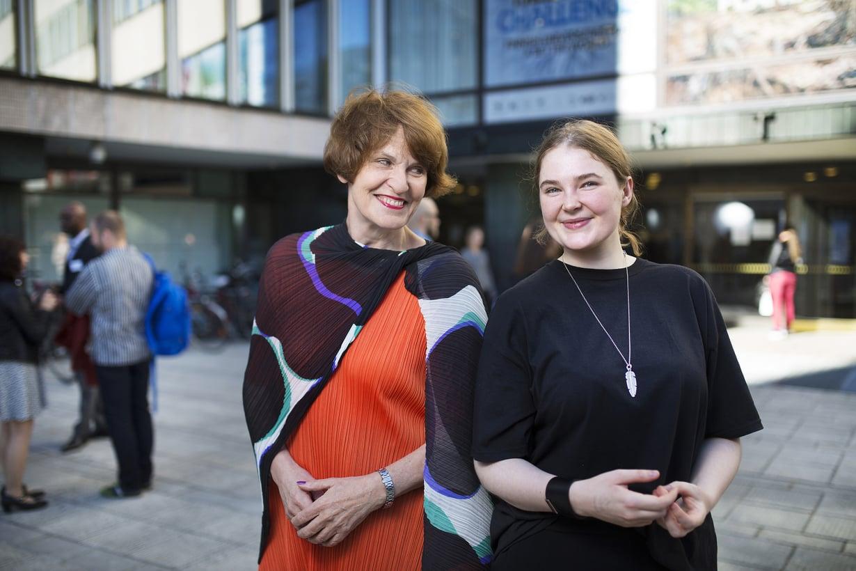 """""""Uunalle rahastoimani lahjat ovat tuottaneet hyvin ja auttavat opintojen rahoituksessa"""", Susanna Miekk-oja sanoo."""