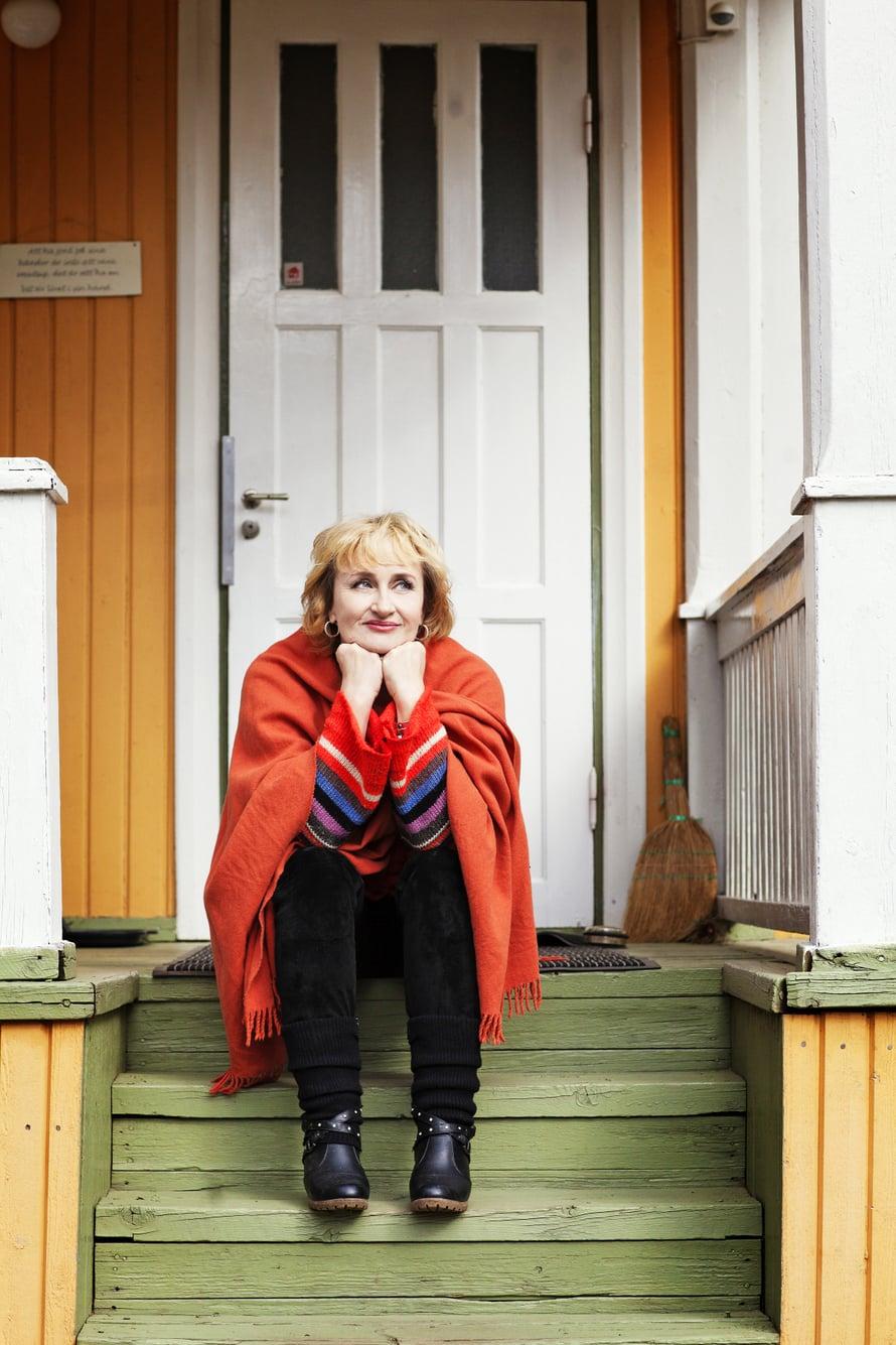 """""""Olen pohjalaanen, jonka koti on nyt Tenholassa"""", Ami Aspelund sanoo."""