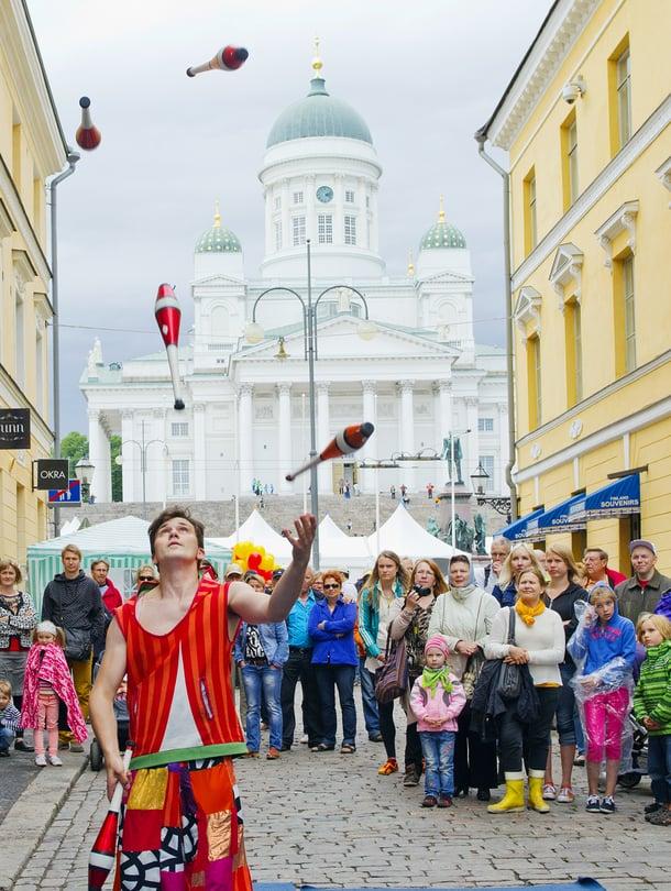 """Helsinki-päivän humua 2016. Kuva: <span class=""""photographer"""">Lauri Rotko / Visit Helsinki</span>"""