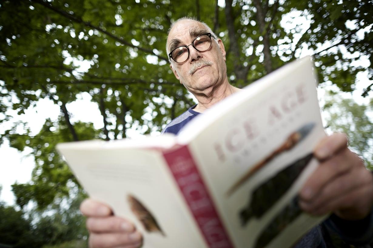 -Isäni sotakaverin jutut innostivat minut arkeologian pariin,Göran Lybäckkertoo.
