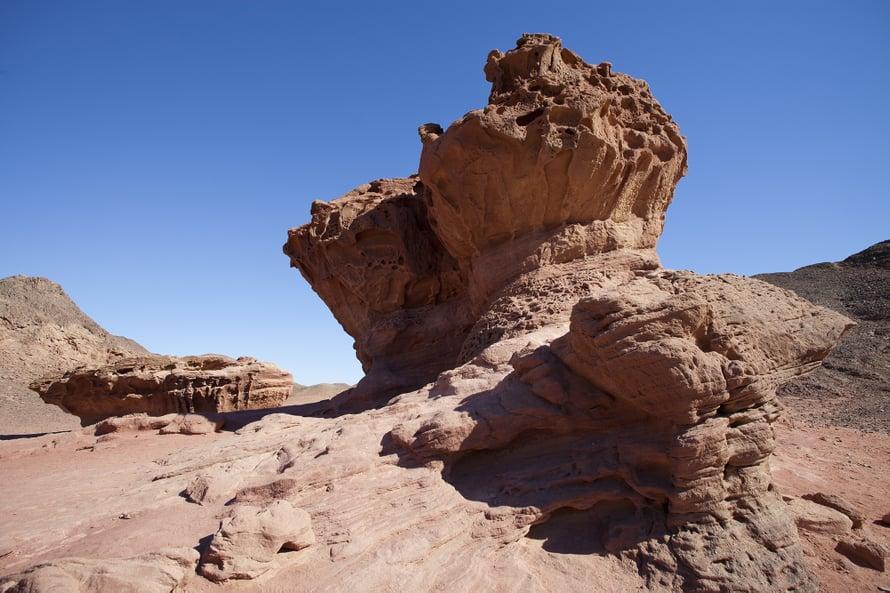 Timnan kalliomuodostelmat ovat kuin taidetta.