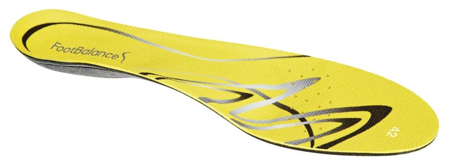 Oman jalan mallin mukaan muotoiltavat pohjalliset tuovat mukavuutta ja tukea. 70 e, Footbalance.