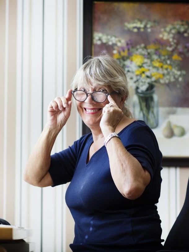 Ella Laurikkalalla on työn alla psykologinen trilleri appiukon ja miniän suhteesta.