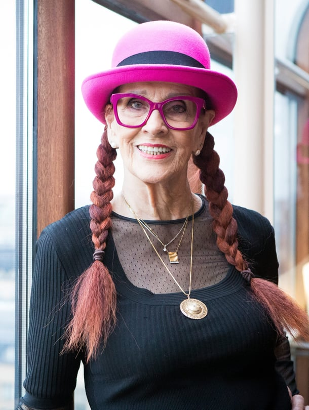 Aira Samulin kuvattuna Helsingissä marraskuussa 2016.