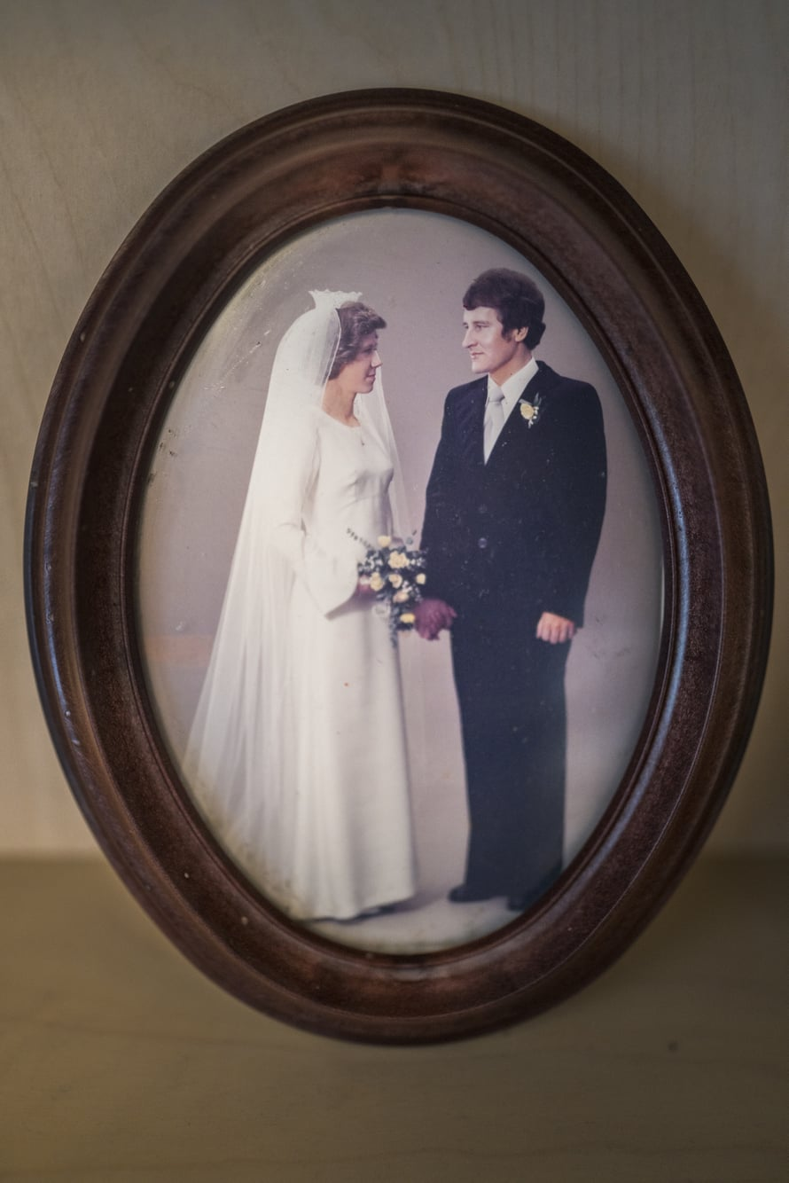 Eeva ja Petter ovat olleet naimisissa lähes 45 vuotta.