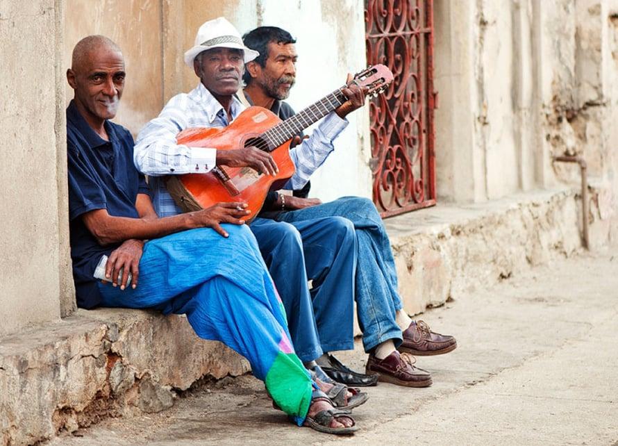 Musiikki on Kuubassa läsnä kaikkialla.