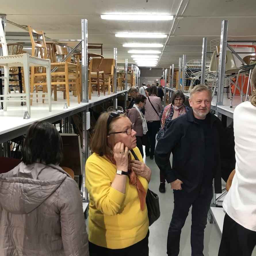 Muotoilija ja arkkitehti Lars Bülow ryhtyi keräämään designhuonekaluja 40 vuotta sitten. Nyt ne ovat esillä Möbeldesignmuseumissa. Museo on auki yhden päivän viikossa.