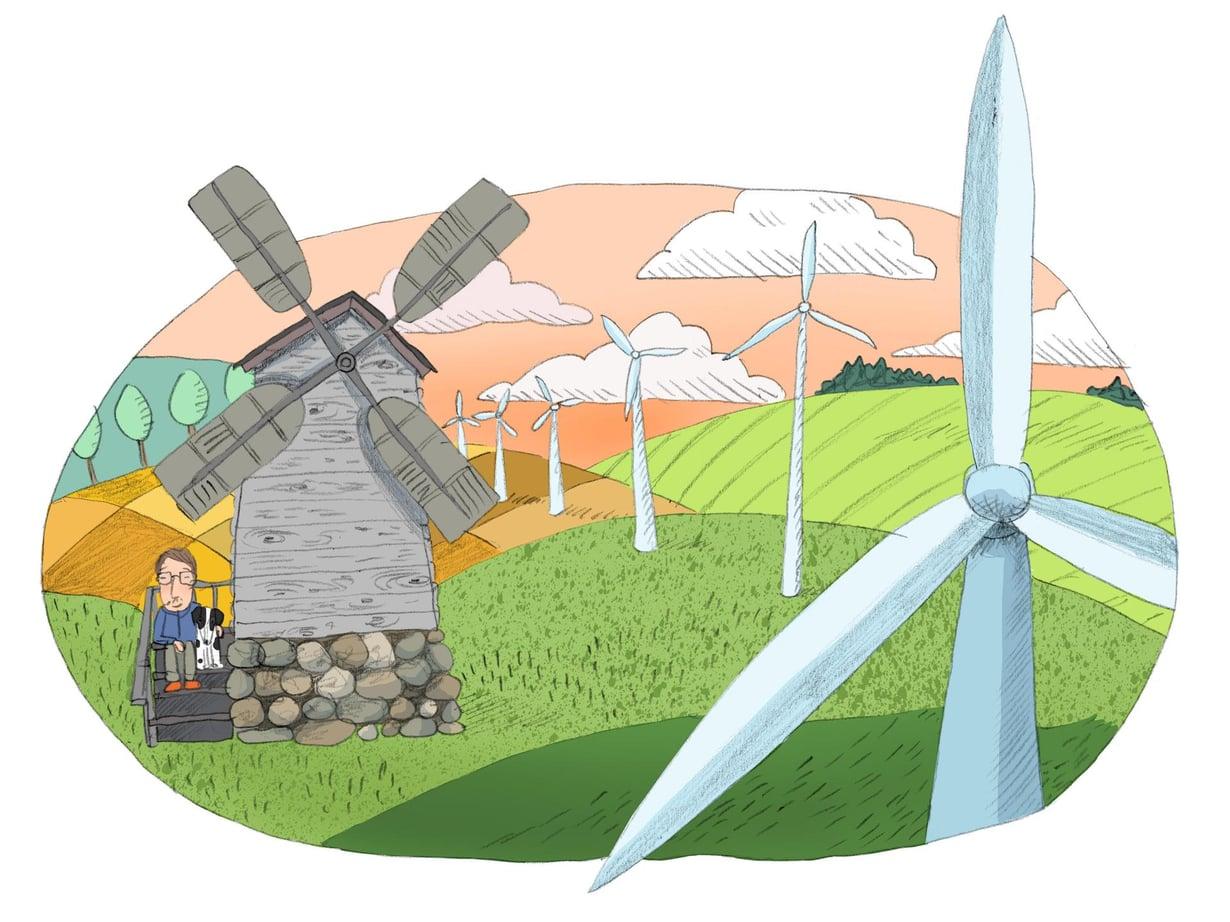 Tiesitkö? Tuulivoiman tuotanto kasvoi viime vuonna57 %.Lähde: Tilastokeskus, Energian hankinta ja kulutus