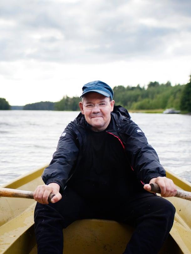 Markku Pietikäinen on 51-vuotias eläkkeellä oleva rajavartioaseman koiranohjaaja ja Rajavartioliiton pääluottamusmies.