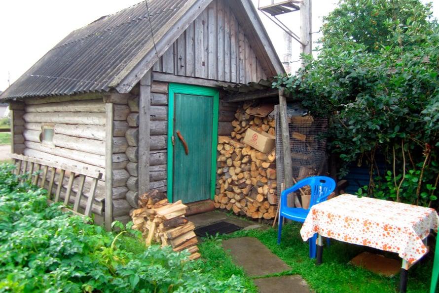 Santerin ja Sandran kyly eli sauna on suloinen.