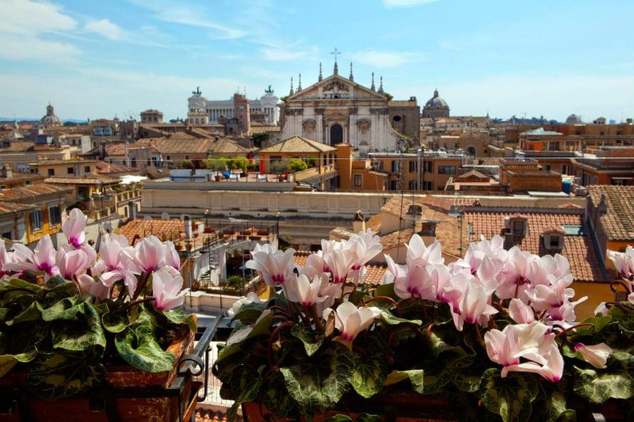 Aventine on eteläisin Rooman seitsemästä kukkulasta.