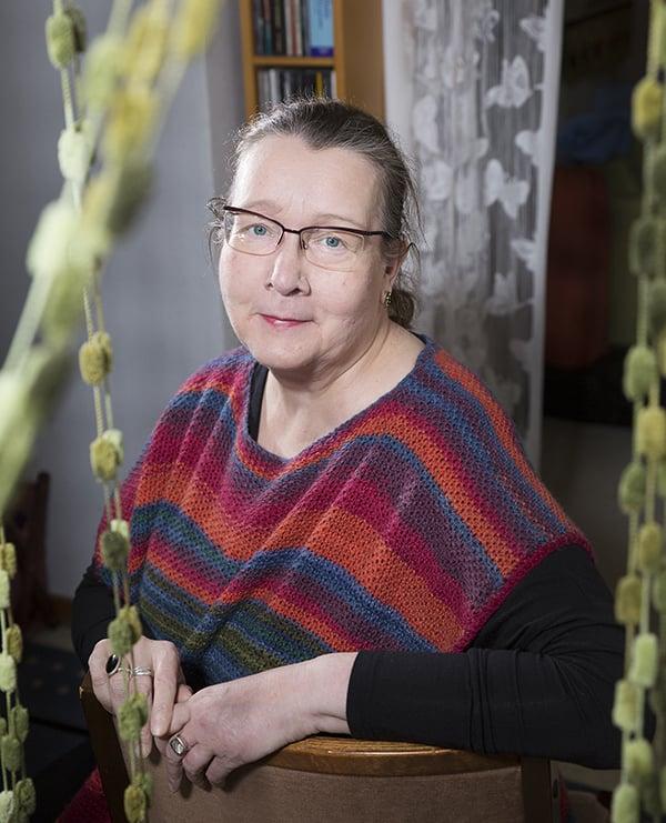 Liisa Tavi, 61.