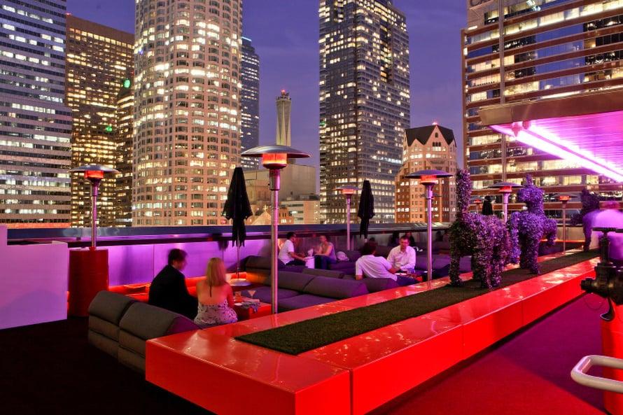 The Standard sijaitsee Los Angelesin keskustassa.