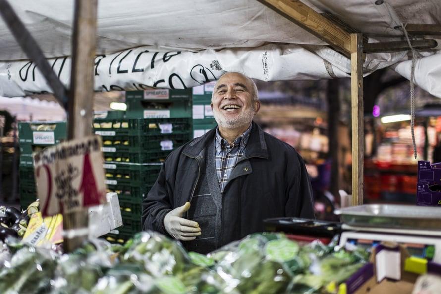 Berliinin turkkilaiset markkinat sijaitsevat Neuköllnissä. Tiistai ja perjantai ovat markkinapäiviä.