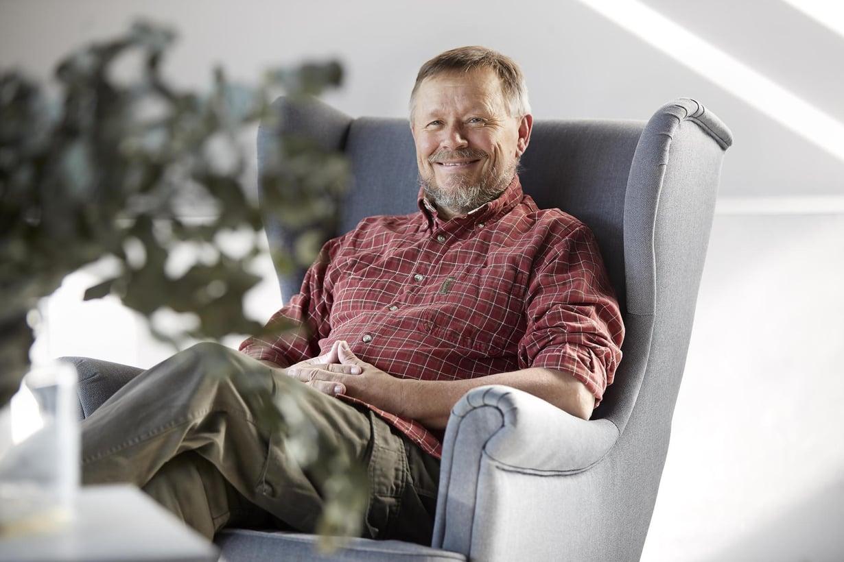 Erkki Lampén on sosiologi, retkeilijä ja kirjoittaja.
