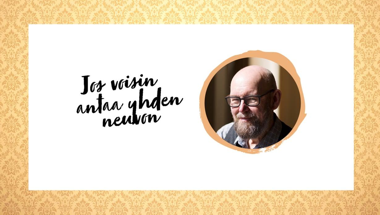 Tähtitieteilijä, tutkija Esko Valtaoja, 66.
