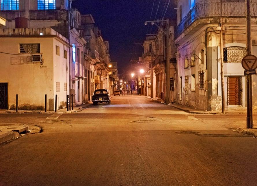 Centro Habanan tunnelmaa.