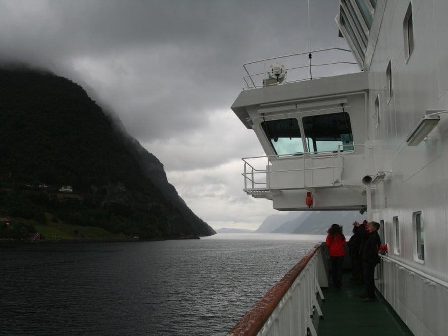 Norjalaisessa sumussa ja tihkussa on oma tunnelmansa.