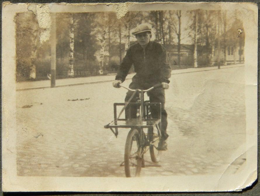 Isä tsupparina joskus 1930-luvulla