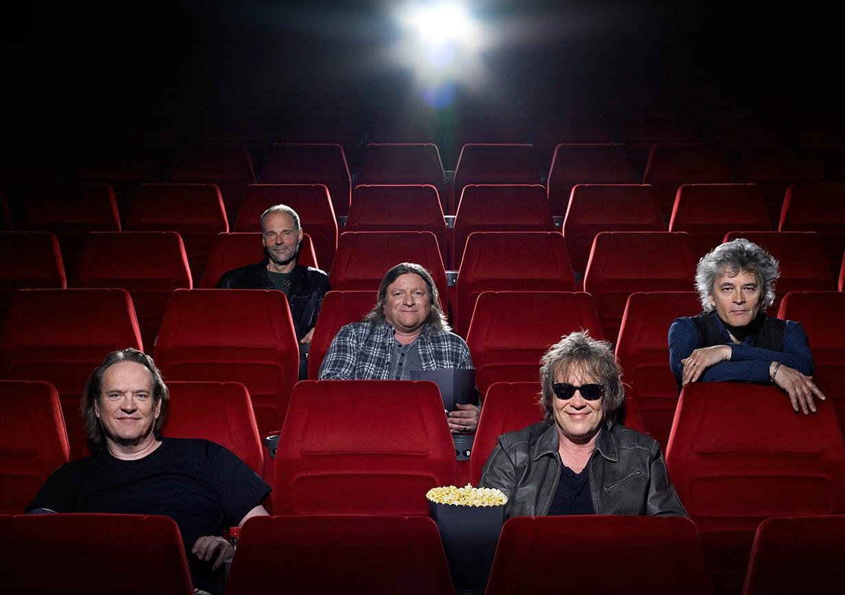 Vasemmalta Pantse Syrjä, Aku Syrjä, Sami Ruusukallio, Martti Syrjä ja Juha Torvinen.