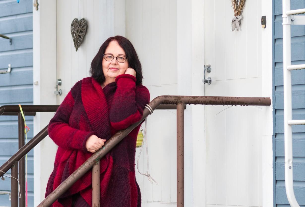 Maire Soiluva tapaa miesystäväänsäjoka viikko.Yhteyttähe pitävätpäivittäin.