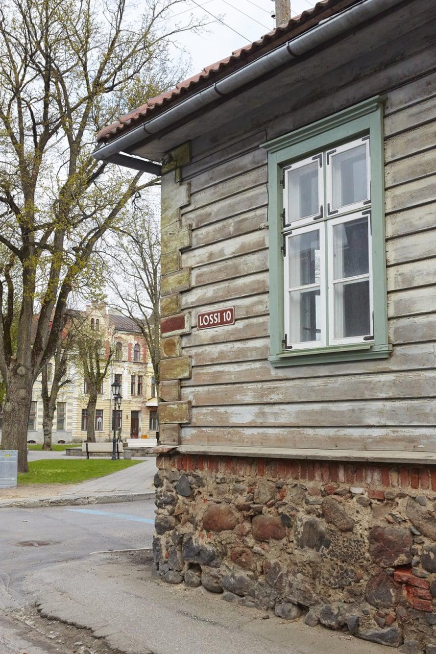 Viljandin vanhakaupunki on kuin matka menneisyyteen.