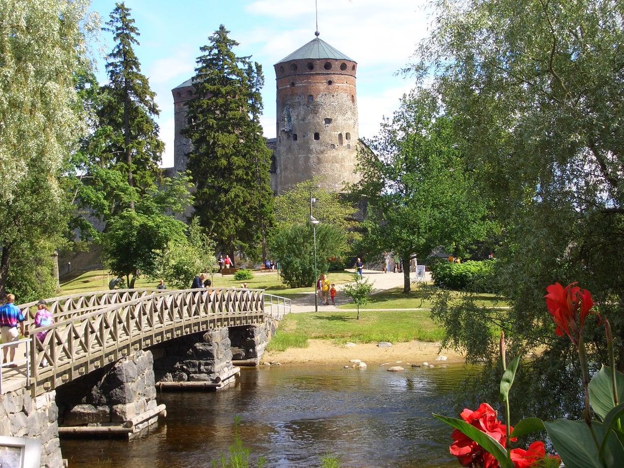 Olavinlinna on Savonlinnan ylpeys.