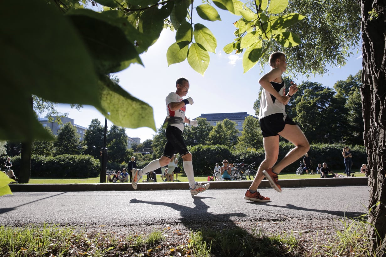 Kuva: Helsinki city marathon.